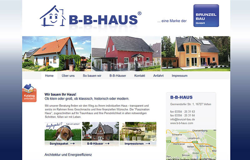 B-B-HAUS - Website