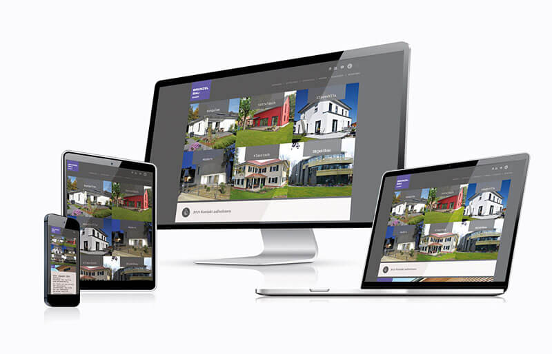Brunzelbau - Responsive Website