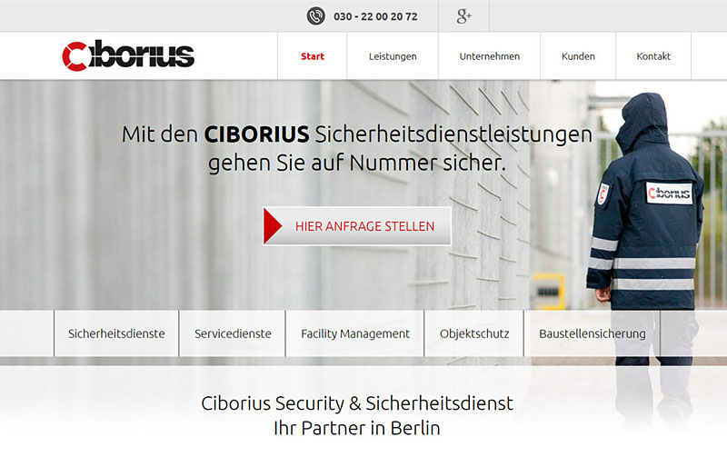 Security Berlin - Startseite