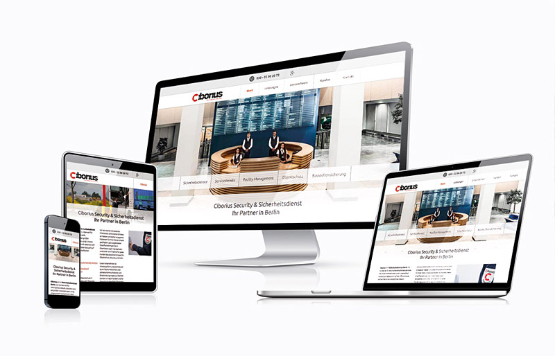 Security Berlin - Responsive Website