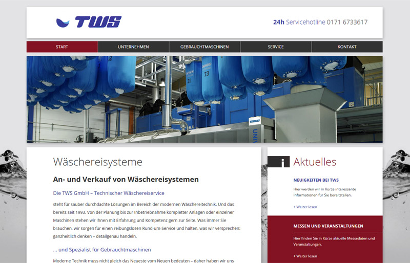 TWS - Website